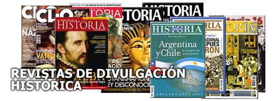 Revistas Divulgación Historica
